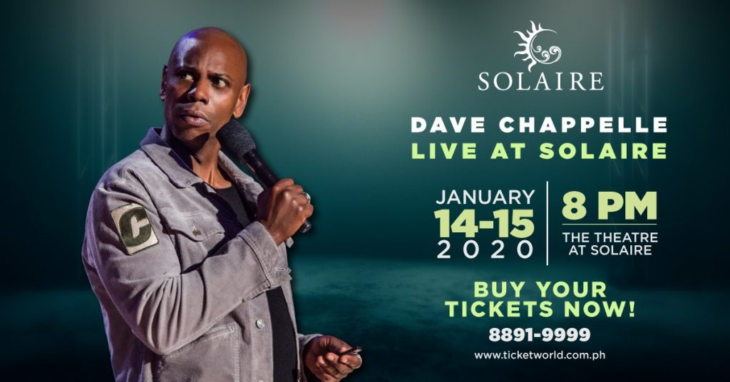 Dave Chappelle in Manila